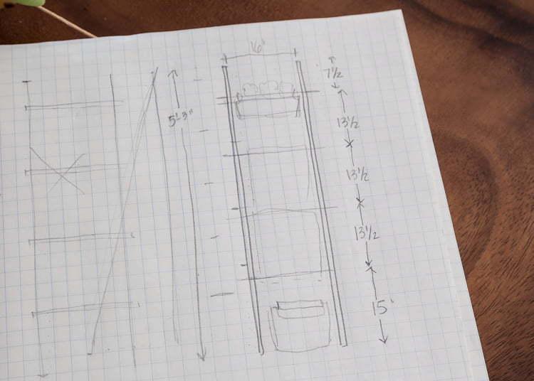 Ladder | DIY | Easy | $100 Room Challenge | Heater | Bathroom | Home Decor | Towels