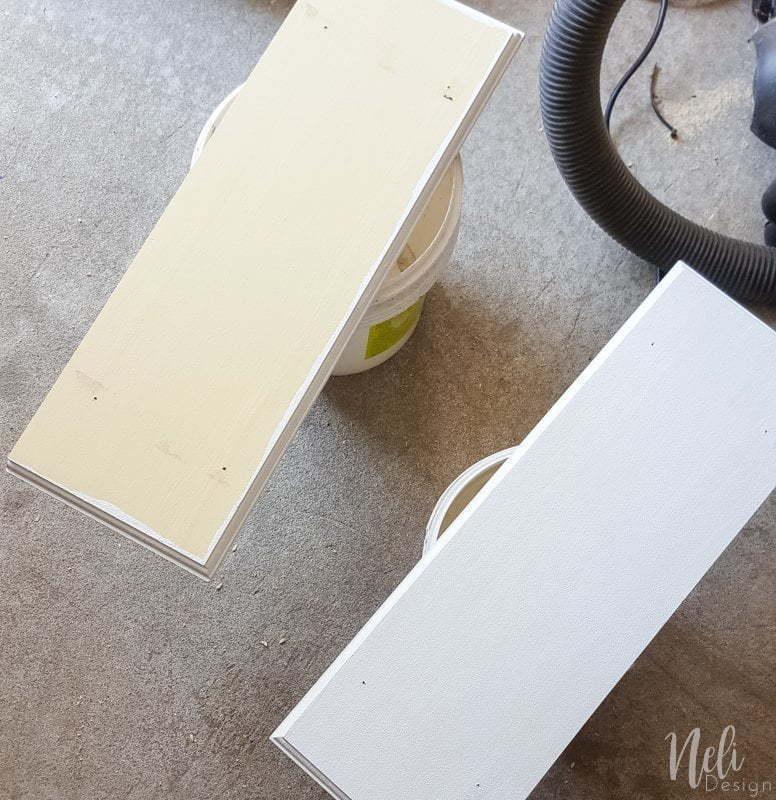 Desk area makeover | girl's room | pegboard | shelves | string art | mouldings | DIY | Tutorial | panneau perforé | bureau | chambre jeune fille | tablettes | art ficelle