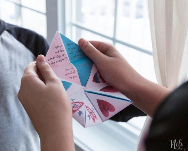 Cootie Catcher | Valentine's day free printable | fun for kids | St-Valentin | Coin-coin à imprimer gratuit | Pokémon | Porygon | Slowbro | Lickitung | Clefable | Pink Pokemon rose | Les enfants s'amusent
