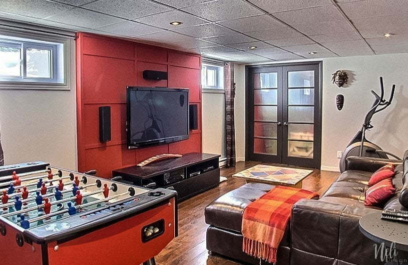 How To Hide An Electrical Panel Aesthetically Home Theater Room Wires