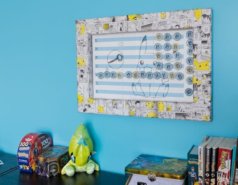 DIY magnetic board made with cookie sheet | How to make a magnetic board | DIY magnets with resin | artresine | magnetic board for children | magnetic board to manage gaming time | game time management | Pikachu theme frame | Pokemon theme frame | self-made magnetic board | how to make a magnetic board | magnets to make oneself with resin | Artresin | recycling caps | Pikachu theme frame | Pokemon theme frame | free download | freebies | downloadable #pikachu #cookiesheet #magneticboard #magnets #resin