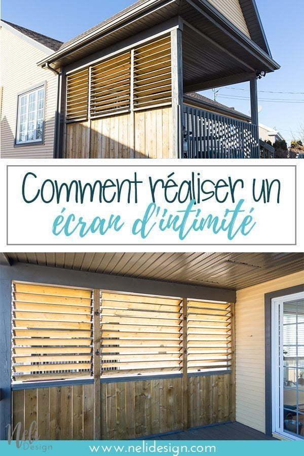 Comment créer un écran d'intimité extérieur, écran de patio, balcon, écran extérieur, séparation, couper la vue #patio #exterieur