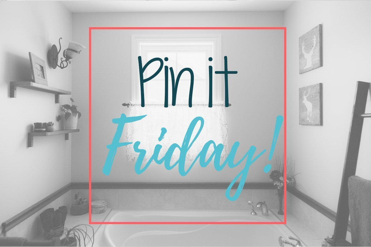 Pin it Friday, best pin from Pinterest on a subject, bathroom
