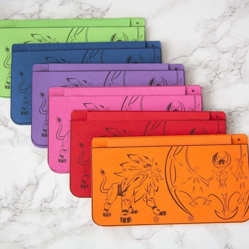 DIYNintendo 3DS birthday invitations, printed on 6 different colour cardstocks