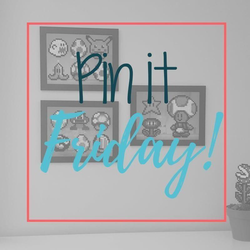 Pin it Friday! Épinglez, c'est vendredi! Les perles Perler. Bricolage pour enfants