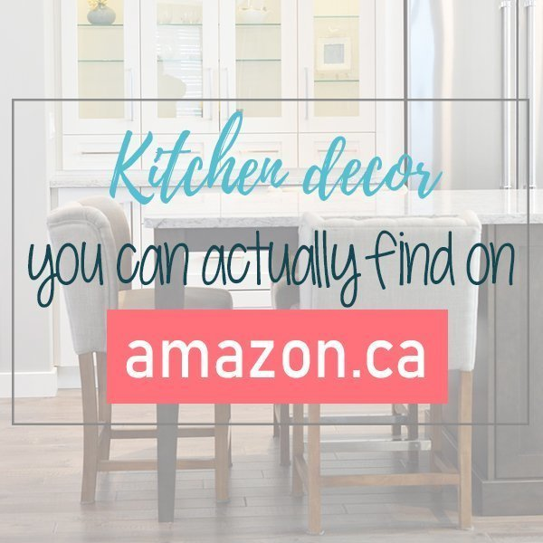 Decoration for the kitchen that you can really find on Amazon Canada. Decoration for the kitchen and dining room available on Amazon.ca. Good affordable shopping to do