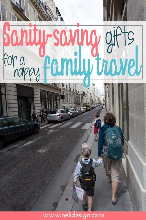 Your family likes to travel or you know one who does? Trying to find the Best travel gifts for families? I've got the best gifts ideas for traveling families because I use all of it and they are sanity-savers! #travel #gifts #family