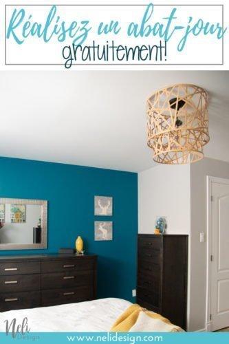 Comment modifier un abat-jour de plafond gratuitement. Débarrassez-vous de ce type de plafonnier et obtenez quelque chose avec beaucoup plus de style. Vous avez juste besoin de recycler une chose pour obtenir ce nouveau luminaire. Un tutoriel complet, étape par étape afin que vous puissiez refaire cette idée. #lampshade #lightfixture #ceilinglight #diy #upcycle