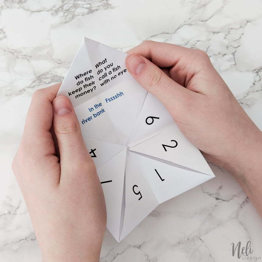And finally a joke can be told with the April Fool's Pokemon Cootie Catcher