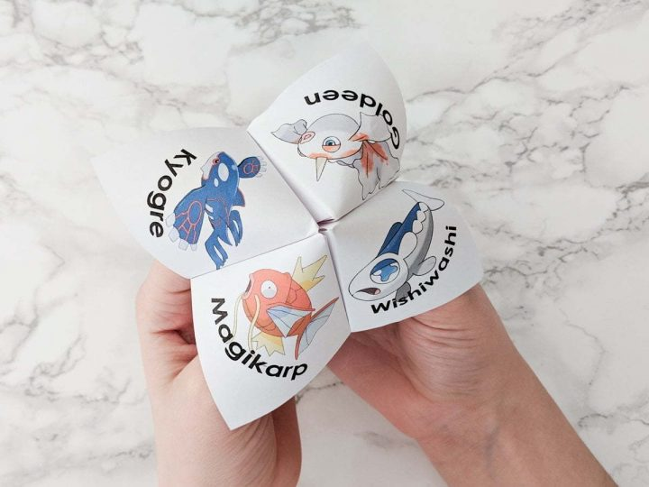 Get this April Fool's Pokemon Cootie Catcher printable for free. Also called a joke teller, the funny fish jokes will make your kids laugh