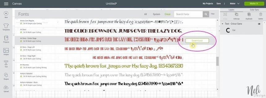 offline font
