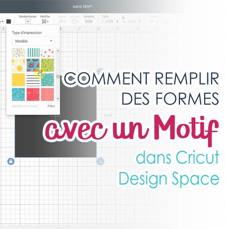 Comment utiliser l'outil Remplissage dans Cricut Design Space