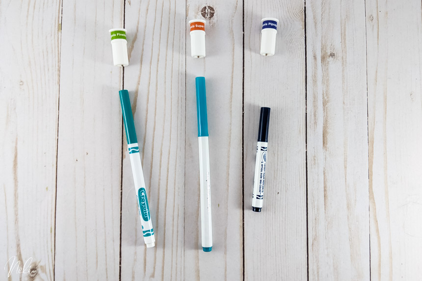 Crayola avec adaptateurs pour la Cricut
